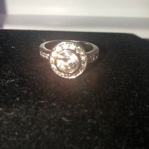 Silver-Toned Costume Ring